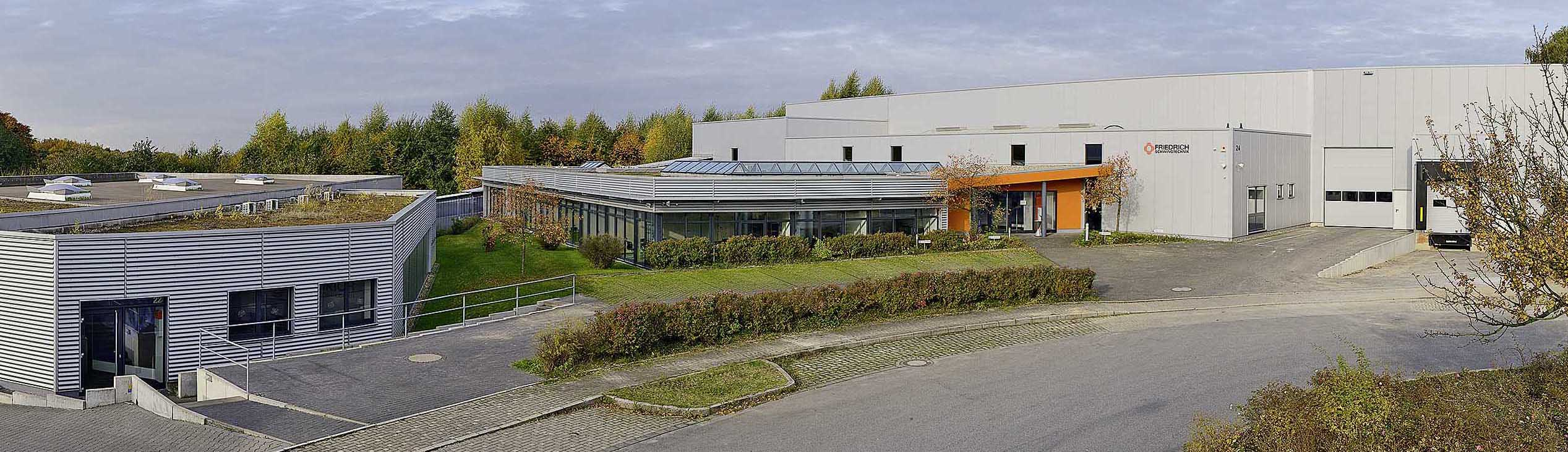 Friedrich Schwingtechnik GmbH, company buildings in Haan, Germany